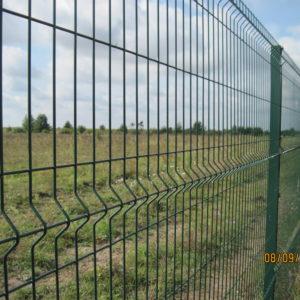Металеві панельні (секційні) огорожі (паркани)